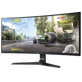 LG 34UC89G-B - Monitor Gaming de 87 cm (34 pulgadas, UltraWide Full HD, IPS, 2560 x 1080 pixeles, 5 ms, 21:9, 250 cd/m2, NVIDIA G-SYNC) Color Negro