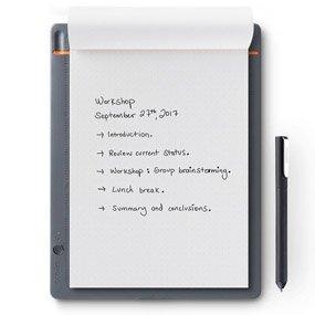 OTRAS HERRAMIENTAS INTERESANTES - Wacom Bamboo Slate - Cuaderno Digital Inteligente, Color Gris