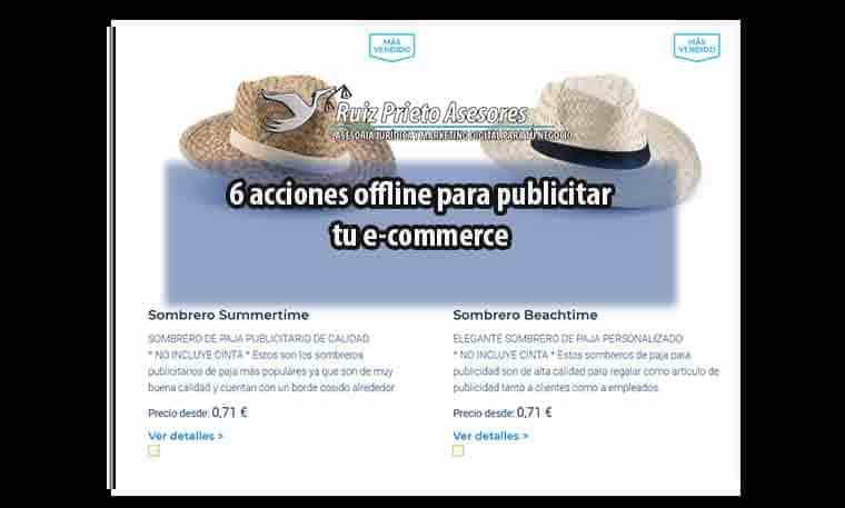 6 acciones offline para publicitar tu e-commerce