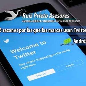 5 razones por las que las marcas usan Twitter