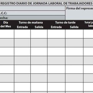 CÓMO REGISTRAR LA JORNADA DE LOS TRABAJADORES