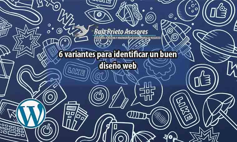 6 variantes para identificar un buen diseño web